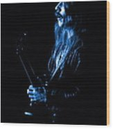 Mrush #11 In Blue Wood Print