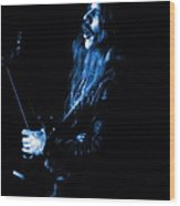 Mrush #12 In Blue Wood Print