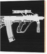 Msar Stg-556 Reversed Wood Print