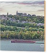 Mt Adams Cincinnati 9919 Wood Print