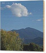 Mt Ashland In Late Summer Wood Print