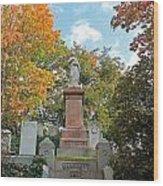 Mt Auburn Cemetery 1 Wood Print