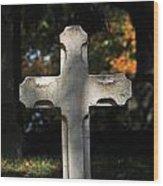 Mt Auburn Cemetery 9 Wood Print