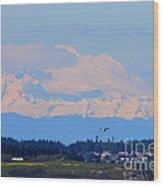 Mt. Baker Of Pacific Northwest Wood Print