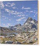 Mt Banner Wood Print