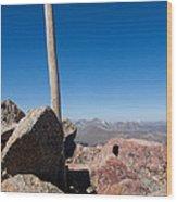Mt. Bierstadt Summit Wood Print