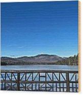 Mt. Chocorua In December  Wood Print