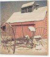 Mt. Cube Farm Old Sugar Shack Wood Print
