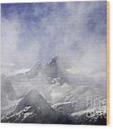 Mt. Earnslaw - New Zealand Wood Print