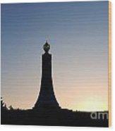 Mt Greylock War Memorial Tower Wood Print
