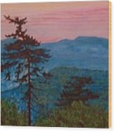 Mt. Greylock Wood Print