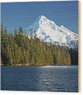 Mt Hood And Lost Lake Wood Print