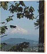 Mt Hood Wood Print