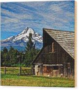 Mt Hood Oregon Wood Print