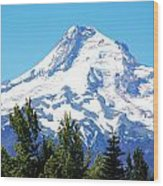 Mt. Hood Oregon Wood Print