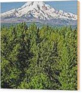 Mt. Hood Vertical Wood Print