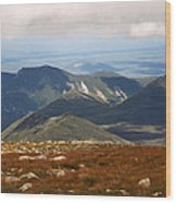 Mt. Katahdin Tablelands Wood Print