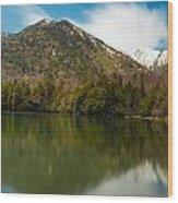Mt. Mitsudake Wood Print