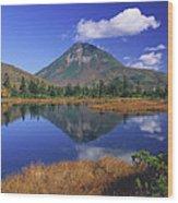 Mt Rausudake Hokkaido Japan Wood Print