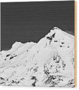 Mt. Ruapehu 2 Wood Print