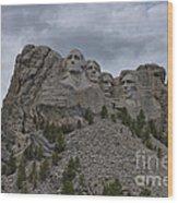 Mt Rushmore Wood Print