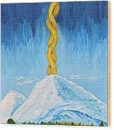 Mt. Shasta Wood Print