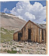 Mt. Sherman Wood Print by Aaron Spong