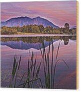 Mt. Si Colors Wood Print