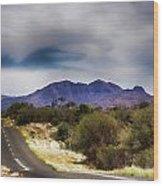 Mt Sonder Central Australia V2 Wood Print