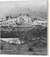 Mt. St. Helen's 2 Wood Print