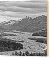 Mt. St. Helen's National Park Wood Print