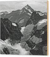 Mt. Titlis Wood Print