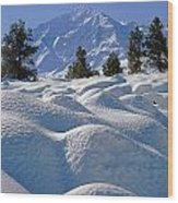 2m6403-mt. Tom From Sherwin Grade V Wood Print