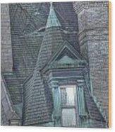 Mt Vernon Mystery Wood Print