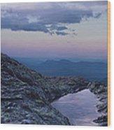 Mt. Washington  Blue Hour Wood Print