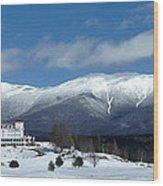 Mt Washington Wood Print