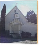 Mt. Zion Baptist Church Wood Print