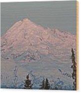 Mt.redoubt Wood Print