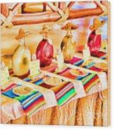 Mucho Tequila Wood Print