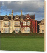 Muckross House - Killarney Wood Print