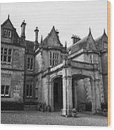 Mucross House Near Muckross Abbey Killarney County Kerry Ireland Wood Print