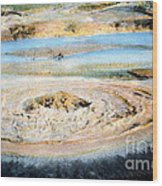Mud Geyser Yellowstone Np 1928 Wood Print