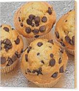 Muffin Tops 2 Wood Print