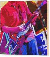 Muffler Guitar Wood Print