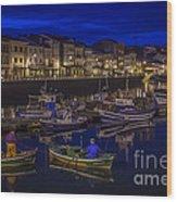 Mugardos Port Galicia Spain Wood Print
