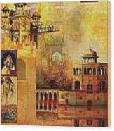 Mughal Art Wood Print