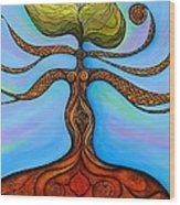 Muladhara Wood Print