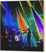 Mule #13 Enhanced Image 2 Wood Print