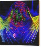 Mule #14 Enhanced Image 2 Wood Print