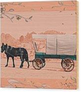 Mule Days - Westmoreland Tn  9-28-13  2 Wood Print